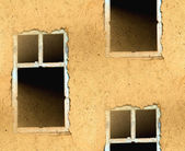 Abstract seamless texture walls with a window — Stock Photo