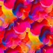 Seamless red pink blue orange texture color watercolour abstract — Stock Photo