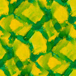 Seamless background green yellow watercolor water abstract art — Stock Photo
