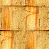 Abstract yellow background aged damaged border construction — Stock Photo