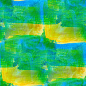 Paint green yellow smears seamless background watercolor abstrac — Stock Photo