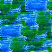 Seamless watercolor blot background green blue raster illustrati — Stock Photo