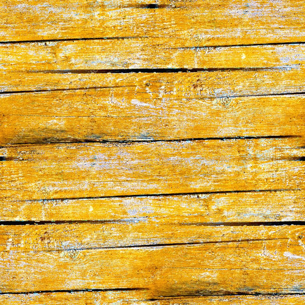 Yellow seamless texture of old wood planks — Stock Photo ...