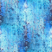 Seamless blue abstract grunge texture with cracks in paint — Stock Photo