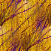 Africa grunge texture iron wall yellow background blots — Stock Photo