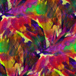 Seamless painting purple red green yellow watercolor with bright — Stock Photo #15784951
