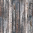 Stock Photo: Seamless texture fence old wood with cracks