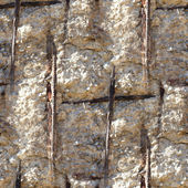 Seamless texture of concrete reinforcement background wallpaper — Stock Photo