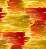Seamless texture color watercolour yellow red abstract — Stock Photo