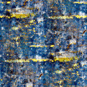 Seamless texture of blue walls of the old — Stock Photo