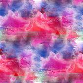 抽象的なピンク赤青塗られた壁紙コンテンポ ラリー アートを — ストック写真