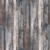 Seamless texture fence old wood with cracks — Stock Photo