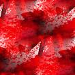 图库照片: Red macro texture watercolor handmade seamless background