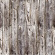 Stock Photo: Seamless old gray fence boards wood texture