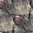 Granite wall background seamless texture old - Stock Photo