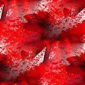 Red macro texture watercolor handmade seamless background — Stock Photo