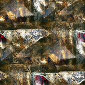 Grunge seamless texture of iron with a place for messages — Stock Photo