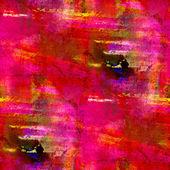 Macro red pink seamless handmade watercolor background — Stock Photo