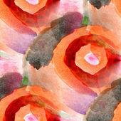 Watercolor seamless orange yellow background — Stock Photo