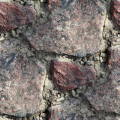 Granite wall background seamless texture old — Stock Photo