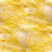 Fiberglass seamless texture yellow wool background — Stock Photo