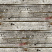 Seamless gray texture of old wood boards background — Stock Photo