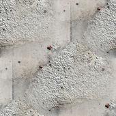 Nahtlose tapete textur viereck der alten steinmauer mit einem sprung — Stockfoto
