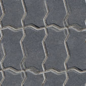Pavement stone road seamless background texture — Stock Photo