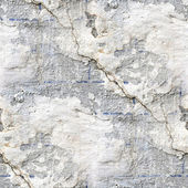 Seamless texture of old stone wall with a crack — Stock Photo