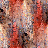 Seamless red abstract grunge texture with cracks in paint — Stock Photo