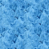 Seamless abstract texture blue color watercolour — Stock Photo