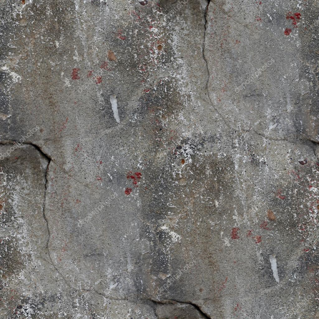 Seamless background old concrete wall with cracks texture for Old concrete wall texture