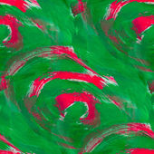 Paint seamless green red background watercolor color abstract ar — Stock Photo