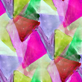 Background mosaic picture watercolor — Stock Photo