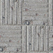 Pavement stone gray road seamless background texture — Stock Photo