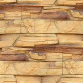 Granite wallpaper decorative brick wall seamless background text — Stock Photo