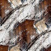 Nahtlose textur des altes eisen mit rissen — Stockfoto