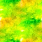 Abstracte groene naadloze macro textuur aquarellen met borstel str — Stockfoto