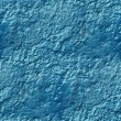 Stock Photo: Concrete wall of blue paint drips rough surface seamless backgro