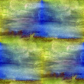 Blue seamless macro texture watercolors with brush strokes — Stock Photo