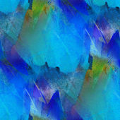 Paint seamless Blue Beauty background watercolor color abstract — Stock Photo