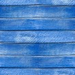 Stock Photo: Seamless texture wooden fence old blue