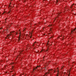 Stock Photo: Concrete wall of red paint drips rough surface seamless backgrou