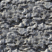 Concrete stone seamless texture irregularities gray wallpaper — Stock Photo