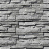 Granite decorative brick wall seamless background texture — Stock Photo
