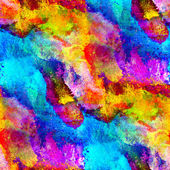 Paint colorful yellow band watercolor seamless texture with spot — Stock Photo