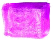 Plats lila konst akvarell fyrkantiga pekaren textur isolerad på en — Stockfoto