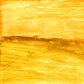 Sarı okra sonbahar doku suluboya soyut form deniz — Stok fotoğraf