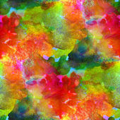 Watercolor painting colorful background — Stock Photo