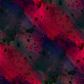 Seamless painting watercolor with bright black purple red brushs — Stock Photo